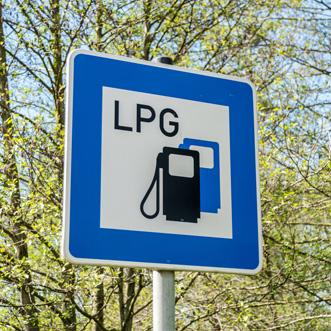 Znak LPG